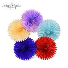 aliexpress com buy 10pcs 10inch 25cm tissue paper fan honeycomb
