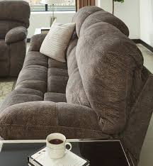 cannelton gray power reclining sofa the furniture mart