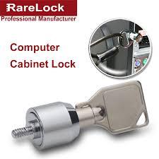 Computer Desk Lock Rarelock Zinc Alloy Computer Cabinet Locks With Tubular
