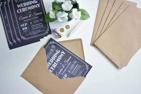 Chalkboard Wedding Invitations How To Make Affordable Chalkboard Wedding Invitations Ej Style