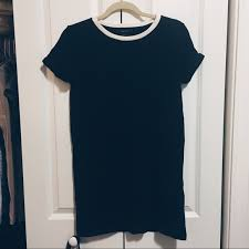 forever 21 forever 21 black t tee shirt dress from keana u0027s