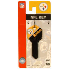 the hillman group 66 pittsburgh steelers house key 89788 the