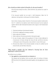 Balance Certification Letter Employer Handbook