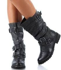 womens bike boots australia harley davidson boots s black leather scrunchie welted