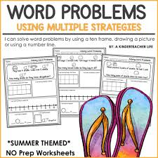let u0027s solve word problems using multiple strategies a