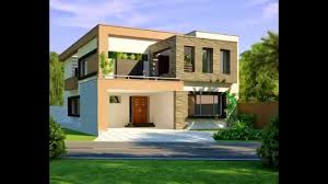Home Designing 3d by 10 Marla Modern Home Design 3d Front Elevation Youtube