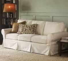 White Slipcovered Sofa Ikea Britton U0027s Webb Basic White Sofa