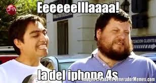 Iphone 4s Meme - eeeeeelllaaaa la del iphone 4s meme de ella memes generadormemes