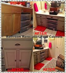 How To Paint Bathroom Cabinets Dark Brown The Colorful Painted Bathroom Cabinets Inspiring Home Ideas