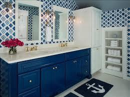 Blue Bathroom Vanity by Benjamin Moore Paint Colors