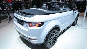 nissan rogue drop top the 2017 range rover evoque convertible a luxury drop top suv
