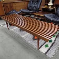 Slat Bench Coffee Table Vintage And Antique Benches From Furniture Stores In Washington Dc