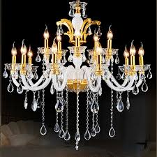12 Light Chandeliers 12 Lights White Modern Chandelier Lighting Gold