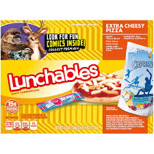 oscar mayer lunchables lunch combinations pizza extra cheesy