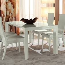 white round extendable dining table and chairs white glass dining set nurani org