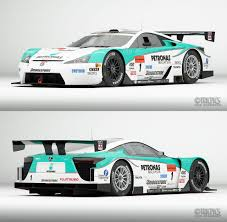 lexus lfa racing petronas tom s to use lexus lfa in gt race