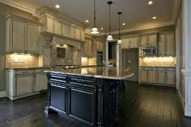 antique glazed kitchen cabinets antique white kitchen cabinets back to the past in modern kitchen