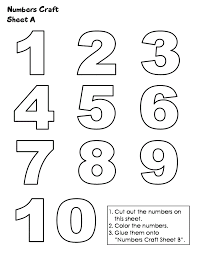 worksheet numbers 1 10 to print wosenly free worksheet