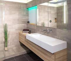 plante verte dans une chambre à coucher innovant salle de bain moderne carrelage gris id es d coration