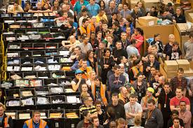 when is black friday week on amazon 19 crazy images of amazon warehouses before black friday