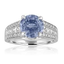 light blue sapphire engagement rings light blue sapphire halo ring ny