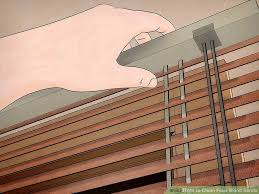 Timber Blind Cleaning 3 Ways To Clean Faux Wood Blinds Wikihow