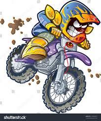 motocross bike images dirt bike motorcycle rider making extreme stock vector 144940345