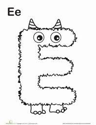 77 best letter work e images on pinterest letter e worksheets