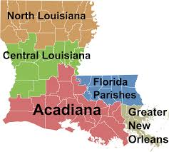 United States Regions Map by File Louisiana Regions Map Svg Wikimedia Commons