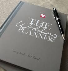wedding planner notebook wedding planner by illustries and notebook with
