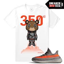 yeezy boost 350 v2 beluga match t shirt sneaker match tees