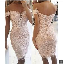 fitted bridesmaid dresses 2017 blushing pink lace bridesmaid dresses the shoulder