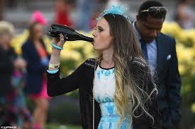 melbourne cup 2015 revellers get into the spirit for australia u0027s