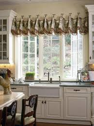 window valance ideas for kitchen creative kitchen window treatments hgtv pictures ideas hgtv