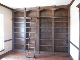 bookcase ladder rolling doherty house bookcase ladders wooden