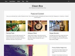 wordpress layout how to clean box free wordpress themes