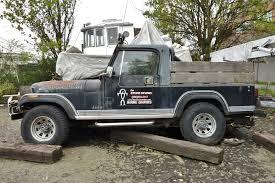 jeep cj8 seattle u0027s parked cars 1982 jeep cj 8 scrambler