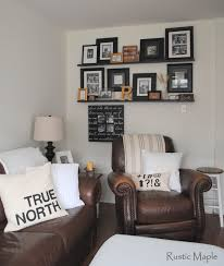 Home Decor Family Room Rustic Maple Home Tour