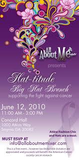 big hat brunch invitations big hat brunch