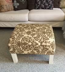 Ikea Ottoman Diy Ottoman Coffee Table Ikea Hack A Purdy House
