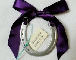 horseshoe party favors horseshoe etsy