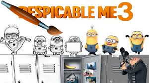 despicable me 3 coloring book pages video for kids episode 24