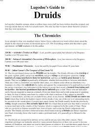 lugodoc u0027s guide to druids neo druidism druid