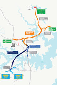 Where Is Wales On The Map Western Harbour Tunnel U0026 Beaches Link Sydney North Projects