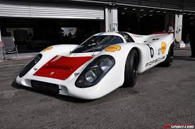 electric porsche supercar porsche 917 u0026 918 spyder at curbstone track events spa