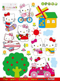 Decoration Cat Wall Decals Home by Sale Pink Hello Kitty Cat Wall Stickers Diy Home Baby Girls