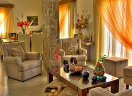 houses beautiful room armchairs design colorful candles candle