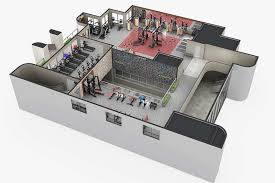 custom fitness facility design commercial equipment