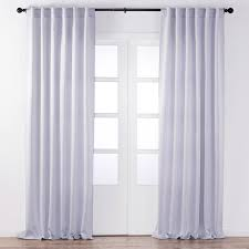 Light Block Curtains Lisbet Light Blocking Curtain White Blackout Curtains Jysk