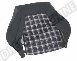 siege golf 1 housses blanc noir petits carreaux pour dossier de siege golf 1